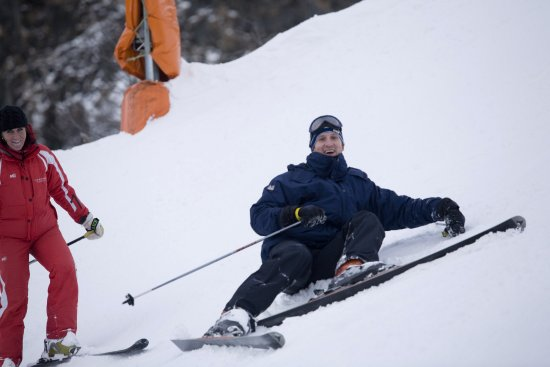 Beginner skiing with ESF instructor in Chamonix