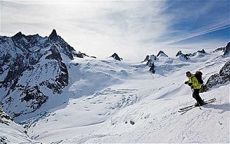 Skiing in Chamonix: white magic in the Vallée Blanche. Sunday Telegraph
