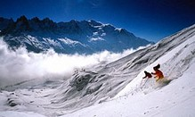 Learning to ski off-piste in Chamonix, The Guardian