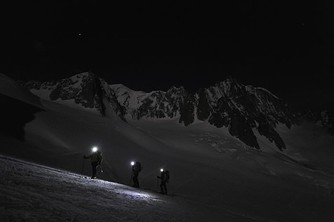 Moonlight and magic by Mont Blanc.  The Guardian.
