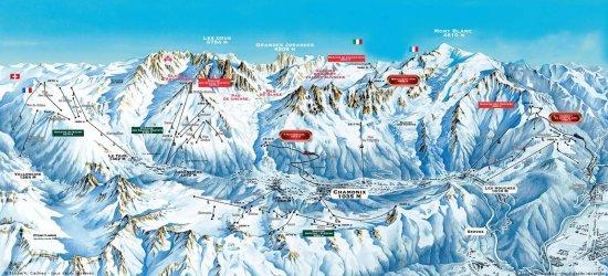 Plan Ville Chamonix