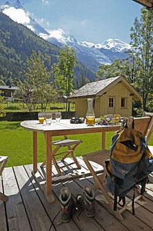 Chalet Les Tissourds, Chamonix in summer